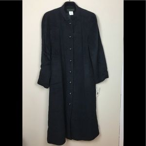 NWT Vintage Harve Benard Plus Size Long Wool Coat